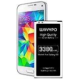 Galaxy S5 Akku, 3380 mAh, Li-Ion-Ersatz-Akku für Samsung Galaxy S5 EB-BG900BBC, G900V, G900A, G900F, G900H, I9600, G900P, G900T, G900R4