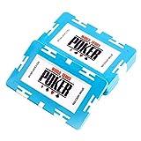Poker Chips LJ Spielchips, Set, Bingo Chips Chips Marker Zählen Spielchips Poker Chip Spielchips Pokerkoffer Pokerset 50/100 Stücke (6 Farben erhältlich)