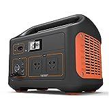 AIISHY Tragbare Powerstation, Batterie Mobiler Stromspeicher & Solar Generator mit 220V Steckdose + USB für Camping Wohnmobil Garten Heimwerken Notstromaggregat,33.3x23.3cm