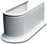 Pelipal - Syphon-Verkleidung weiß, Siphon-Abdeckung zuschneidbar für Waschbecken-Unterschrank