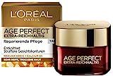L'Oréal Paris Tagespflege, Age Perfect Extra-Reichhaltig, Anti-Aging Gesichtspflege, Entknittern und Straffen, Für sehr reife und trockene Haut, Mit Manuka Honig und Calcium B5, 50ml