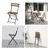 Ikea TÄRNÖ Stuhl für außen; klappbar; aus massiver Akazie