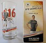 DFB Offizielles Sammelglas Fussball EM 2016 Rewe Ovp Thomas Müller