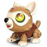 DeeXop Roboter Hundespielzeug für 3- bis 7-jährige Jungen und Mädchen, Pfiffiges Heimwerkerspielzeug Welpe für Kinder STEM Interaktives Hundeerziehungspuzzle Kinderspielzeug, Perfekte Kindergeschenke