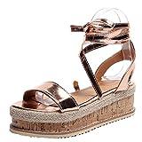 Mode Frauen Wedge Sandalen Casual Comfort Damen Cross Strap Open Toe High Heels Sandalen Polsterung Anti-Rutsch Damen Arbeitssandalen
