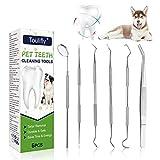 Cherioll Zahnsteinentferner Hund,Zahnpflege Hunde, Zahnreinigungswerkzeug für Hunde und Katzen,Zahnreinigung Mundpflege Tools,Zahnpflege und Zahnreinigung I Zahnpflege Hunde für Frischen Atem