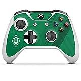 DeinDesign Skin kompatibel mit Microsoft Xbox One S Folie Sticker SV Werder Bremen Wappen Offizielles Lizenzproduk