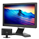 IPS-Monitor, 13,3-Zoll-Auflösung 1920 x 1080 16: 9, Vollsichtwinkel 178 Grad, Unterstützung PS4 HDR HDMI VGA USB, für DC AV BNC LED 110-240V(schwarz)