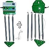 PAKASEPT Elektrische Babyschaukel Automatisch mit Timing-Funktion, Schwingfeder für die Baby Federwiege, Babywippe Controller Cradle Kein Geräusch |Energie sparen bis 15 kg