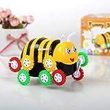 Dumpers Elektroauto in Bienenform, für Kinder, Jungen, Mädchen (mehrfarbig)