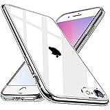 Wlife Crystal Clear Kompatibel mit iPhone 6 iPhone 6S Hülle, Transparent Stoßfest Anti-Gelb Anti-Kratzer Dünn Handyhülle Slim PC mit TPU Silikon Rahmen Durchsichtige Schutzhülle iPhone 6/6S C