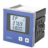 Amperemeter, Multifunktionales 3-Phasen 5A 3P4W Digitales Stromanzeige-Messgerät für Stromüberwachungssystem für Energiemanagementsystem