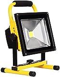 NYZXH LED-Fleckbeleuchtung Wiederaufladbare LED-Arbeitslicht mit Stand  IP 65 wasserdichte Notfallsicherheitsstrahler für Gartengarage Camping Beleuchtung (Größe: 30W) (Size : 50W)