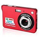 Digitalkamera, CamKing 2,7-Zoll-Digitalkamera, 18 MP HD-Kamera für Rucksacktouren, Mini-Digitalkamera-Taschenkameras Digital mit Zoom, Kompaktkameras für Fotog