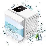 HFTD Persönliche Klimaanlage Mini,Klimaanlagenlüfter,mit USB-Aufladung Leise Mini-Raumkühlung für Heimbüros Schlafzimmer Auto langlebig