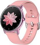 Geeignet für Android und iOS, wasserdichte Smart-Watches, geeignet für Android und iOS, Bewegungs-Tracker mit vollem Touch-Farbbildschirm, Pulsmesser, Schrittzähler, Schlaf-Monitor.