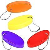 Schwimmender Schlüsselanhänger aus Schaumstoff, Rettungsschlauch-Schlüsselanhänger, schwimmende Schlüsselanhänger für Bootfahren, Angeln, Kitesurfen, Segeln und Outdoor-Sportarten (4)