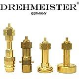 Drehmeister LPG Adapter Set zum Befüllen von Gasflaschen 11 & 33kg - Gasflaschen Adapter