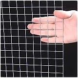 Maschendraht Zaun Geschweißtes Drahtgeflecht, Eisendraht 304 Edelstahl-Anti-Rost-Durable können verwendet werden, um Hühner-Enten und Kaninchen-Farmzäune anzuheben und Setzlinge zu schützen