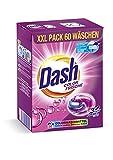 Dash® Color Frische 3 in 1 Caps XXL-Sparpack I 60 Waschladungen I Waschmittel-Caps für bunte Wäsche I 3 in 1 Formel für Frische, Reinheit und Sauberkeit | 1,59 kg
