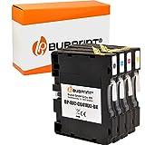 4 Bubprint Druckerpatronen kompatibel für Ricoh GC-41 für Aficio SG2100N SG3100SNw SG3110DN SG3110DNw SG3110N SG3110SFNw SG3120 SG7100DN SG-K3100DN Set