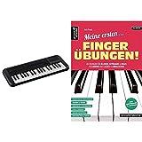 Yamaha PSS-A50 Keyboard, schwarz – Transportables Mini Keyboard mit großartigem Sound und tollen Effekten & Meine ersten Fingerübungen! 45 Übungen für Klavier, Keyboard & Orgel