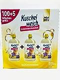 Kuschelweich 105 Wäschen Colorwaschmittel Glücksmoment