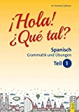 Hola! Que tal? 1 - Spanisch für das 1. und 2. Lernjahr: Grammatik und Übungen