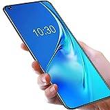 OUKITEL C21 (2021) Android 10 Handy Sim Free FHD +, 16,4 Zoll, 4 GB + 64 GB (SD 256 GB), 20 MP Selfie vorne, vier Rückkameras, 4000 mAh Akku, Dual-SIM-Smartphone blau