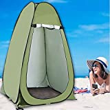XYZLEO Pop-Up-Zelt, Outdoorzelt, Umkleidezelt, Sichtschutz für Outdoor,Camping Angeln,Strand,Dusche,Toilette 47' L x 47' W x 75' H