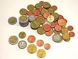 WISSNER 80610.08 aktiv lernen - 80 EURO Rechengeld Münzen - RE-Plastic
