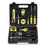 XIAOLINGTONG 16-teiliges Werkzeug-Set Heimwerker-Werkzeug-Set Aus Edelstahllegierung Heim-Handwerkzeug-Set Mit Tragbarem Aufbewahrungskoffer