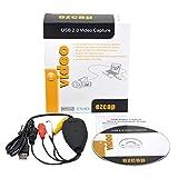 kdjsic Ezcap172 USB-Video-Grabber-Capture-Konverter-Adapter VHS-Videorecorder DVD-Camcorder für Windows 10