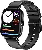 ANSUNG Smartwatch,Fitnessuhr mit Blutdruckmessung, 1.78 Zoll Fitness Tracker mit Bluetooth-Anruf, IP67 Wasserdicht Sportuhr Smart Watch mit Pulsuhr für Damen Herren(Schwarz)
