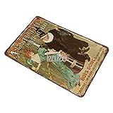 XREE Absinthe Parisienne Werbung Kunst Blechschild Vintage Wohnaccessoires displate Blechschilder Retro Metallschilder Eisenmalerei rostiges Poster 30 x 40 cm