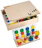 Educo | Peutra | Lehrmaterialien Mathematik | Mathematik - Geometrie - Farbe und Form | Ab 84 Monate | Bis 144 Monate, farbsk