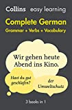 Easy Learning German Complete Grammar, Verbs and Vocabulary (3 books in 1): Trusted support for learning (Collins Easy Learning) (English Edition)