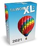 Fotoworks XL 2 (2021er Version) Bildbearbeitungsprogramm zur Bildbearbeitung in Deutsch - umfangreiche Funktionen, sehr einfach zu bedienen, kinderleicht Fotos bearbeiten im Fotobearbeitungsprogramm