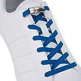 SULPO Elastische Gummi Schnürsenkel mit Metall-Magnetverschluss – Ohne Binden – Gummischnürsenkel – Schnürsenkelersatz, Schleifenlose Schuhbänder – Gummischnürsenkel für alle Schuhe