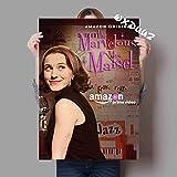 Simayi Familie Tv-Serie Wand-Dekor Poster The Wonderful Ms. Maisel American Comedy Tv-Serie Leinwand Gemälde Ungerahmt 50X70Cm (Jn2162)