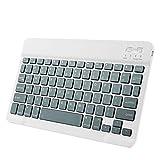MOHAN88 Leichte Maus Tastatur Anzug 10 Zoll Universal tragbare drahtlose Tastatur für Tablet-Computer Mobiltelefon - Army Green