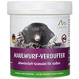 Gardigo Maulwurfabwehr Granulat für den Garten | Maulwurfvertreibung durch Duftstoff | 300g