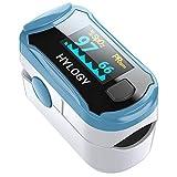 Pulsoximeter Finger Oximeter Blutsauerstoffsättigung Monitor mit OLED Display, Herzfrequenz Oximeter für das Gesundheitswesen
