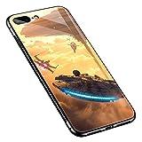 iPhone 8 Hüllen für Mädchen und Jungen, Abendhimmel, iPhone 7 Hüllen, iPhone SE 2020, Hüllen für Mädchen und Jungen, Musterdesign, stoßfest, rutschfest, gehärtetes Glas für Apple iPhone 8/7/SE2