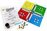 Kids Play - Ludo - Klassisches Brettspiel   2-4 Spieler   Brettspiele für Kinder   Ideal als Familienspiel oder zum Lernen   Ab 3 Jahren