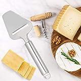 Kadimendium Edelstahl Anti-Rutsch-Käseschneidewerkzeug Käseschneider für Bäckereien für Kekse