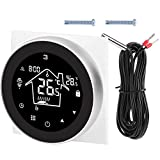WiFi-Thermostat, Heimthermostat, PC + ABS-Material Elektrische Heizsysteme für den Heimgebrauch Sanitär für die Fußbodenheizung