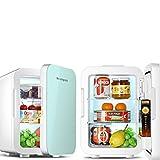 Haushalt Kleiner Mini-Kühlschrank, Fahrzeugmontierter Mini-Kühlschrank Kleines Studentenwohnheim Schlafzimmer Mietwagen Zuhause Dual-Use-Insulin-Kühlschrank-Box Tragbarer Kühlschrank langlebig