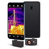 Hohe Auflösung384 x 288 IR-Auflösung für Android-Micro-USB- oder USB-C-Smartphones mit 25 HZ,Hti-Xintai Wärmebildkamera Hti-301