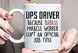 Lplpol Gift for Ups Driver, Ups Driver Tasse, Best UPS Driver Ever, UPS Driver Ever, Geschenk Ideen, Weihnachtsgeschenk für USV-Fahrer, 313 ml